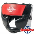 Боксерский шлем SportForce SF-HG02  (Full Protection)