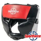 Боксерский шлем SportForce SF-HG02  (Full Protection)